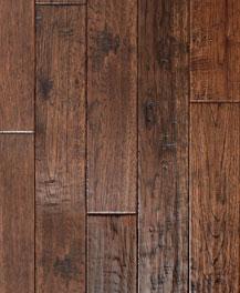 Francesca Handscraped American Hickory Stockton Engineered Hardwood Flooring