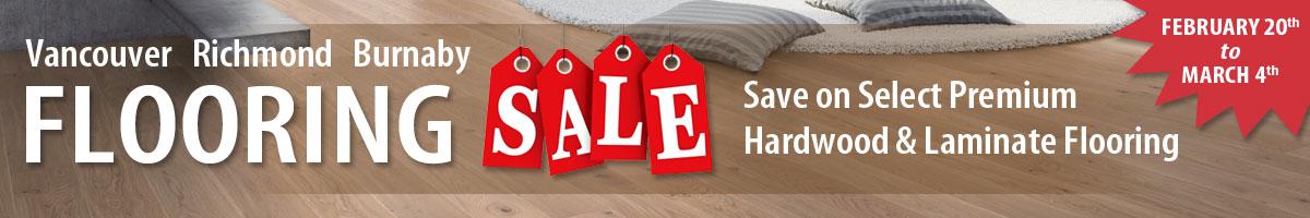Hardwood & Laminate Flooring Sale