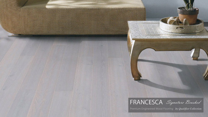 Francesca Signature Brushed Hardwood Flooring Vancouver